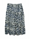 Sara Lanzi blue speckled skirt shop online womens skirts