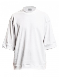 Camo Bucefalo white wide t-shirt