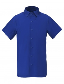 Mens shirts online: Allterrain by Descente Seamless Stretch azurite blue shirt