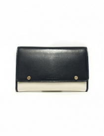 Beautiful People cream and navy leather wallet 1635511925-BLUE order online
