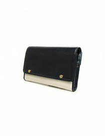 Beautiful People cream and navy leather wallet buy online