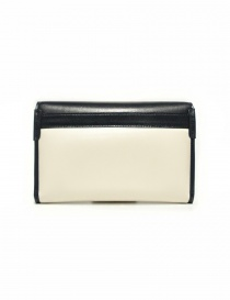 Beautiful People cream and navy leather wallet price