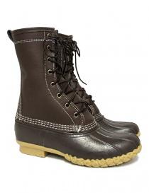 Stivaletto L.L. BEAN Shearling Bean Boots marrone scuro LLS230121-2764W SHEARLING