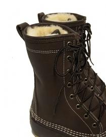 Stivaletto L.L. BEAN Shearling Bean Boots marrone scuro prezzo