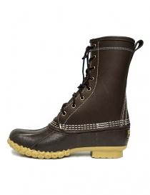 L.L. BEAN Shearling Bean Boots dark brown womens shoes buy online