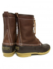 L.L. BEAN Shearling Bean Boots mid brown price