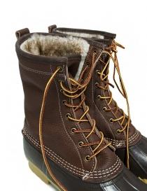 Stivaletto L.L. BEAN Shearling Bean Boots marrone medio calzature uomo acquista online