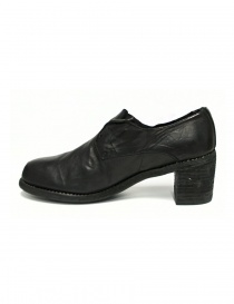 Black leather Guidi M82 shoes price