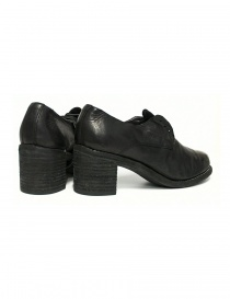 Black leather Guidi M82 shoes womens shoes buy online
