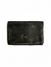 Guidi EN02 black leather wallet EN02 HORSE FG WALLET BLKT
