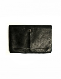 Guidi EN02 black leather wallet buy online