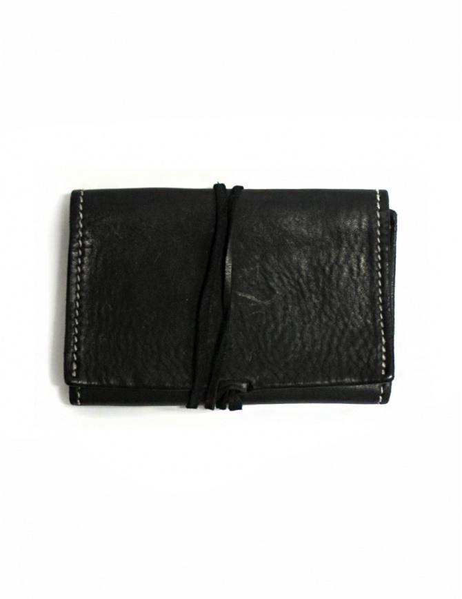 Guidi TBC01 black leather tobacco case