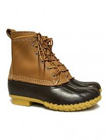 Stivaletto L.L. BEAN Bean Boots marrone chiaro (sei buchi) LLS212880-1914W TAN order online