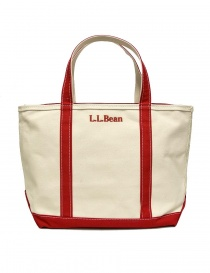 L.L. Bean red finishing tote bag 722-BABYCALF-26 order online