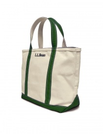 L.L. Bean green finishing tote bag