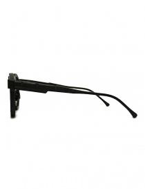 Occhiale da sole Kuboraum Maske N5 nero opaco prezzo