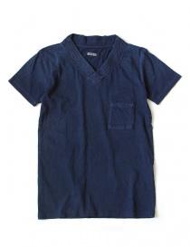 Kapital indigo t-shirt EK-346-SHIRT-IDG