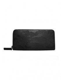 Wallets online: Ptah black camouflage wallet