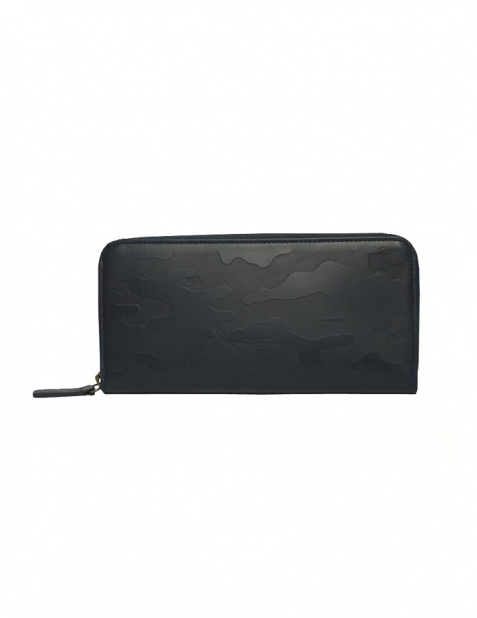 Ptah blue camouflage wallet