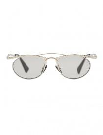 Occhiale da sole Kuboraum Maske H52 colore metallo H52-51-19-SI