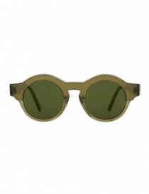 Glasses online: Kuboraum Mask K9 green sunglasses