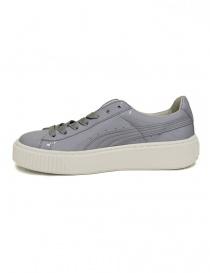 Sneaker Puma Basket Platform Patent colore lilla acquista online