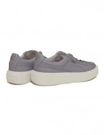 Sneaker Puma Basket Platform Patent colore lilla prezzo