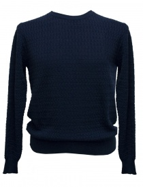 Mens knitwear online: Grp light blue sweater