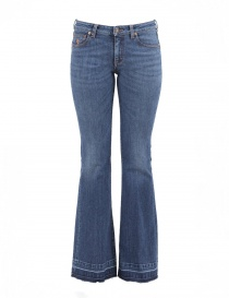 Womens jeans online: Avantgardenim Indigo 70s Hippie denim