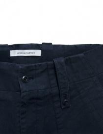 Pantalone Cellar Door Baker colore blu prezzo