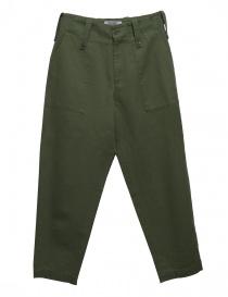 Pantalone Cellar Door Baker colore verde BAKER-A169-COL-76 order online