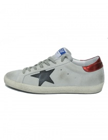 Golden Goose Superstar grey sneakers buy online