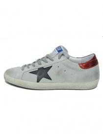 Golden Goose Superstar grey sneakers