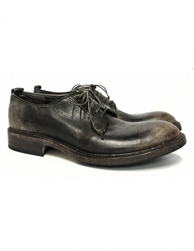 Shoto dark brown leather shoes