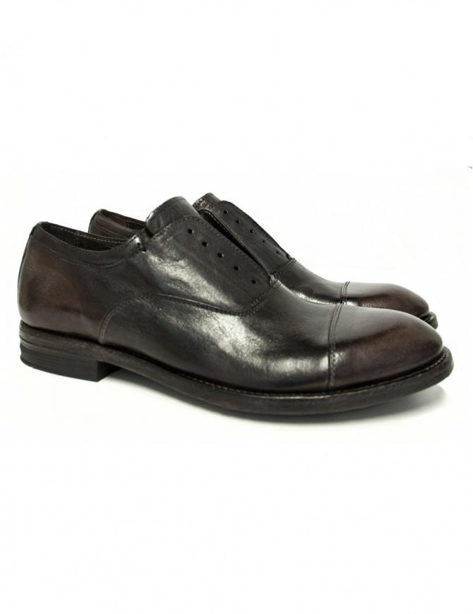 Shoto Figaro dark brown leather shoes