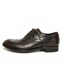 Shoto Figaro dark brown leather shoes price