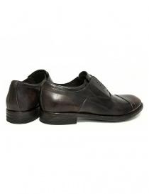 Scarpa Shoto Figaro in pelle marrone scuro calzature uomo acquista online