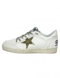 Golden Goose Ballstar white sneakers