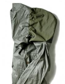Parka Kapital Army Twill Oil colore verde grigio prezzo