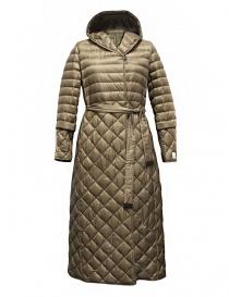 'S Max Mara Trefl gold camel goose down jacket TREFL-007-CAMMELLO order online