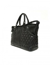 Cornelian Taurus by Daisuke Iwanaga black leather bag