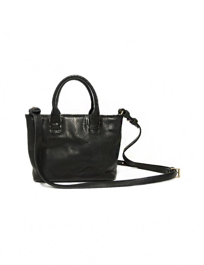 Cornelian Taurus by Daisuke Iwanaga black leather small bag