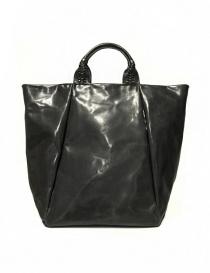 Delle Cose style 751 asphalt leather bag 751-HORSE-POLISH-ASF order online