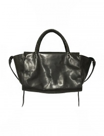 Delle Cose style 750 asphalt leather bag 750-HORSE-POLISH-ASF