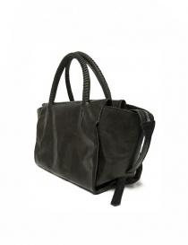 Delle Cose style 750 asphalt leather bag