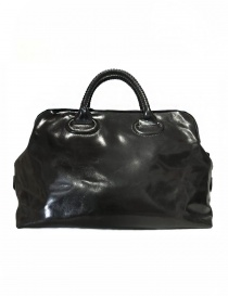 Delle Cose style 13 asphalt leather bag 13-HORSE-POLISH-ASF