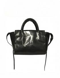 Bags online: Delle Cose style 750-S asphalt leather bag
