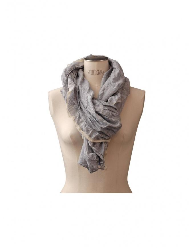 Sciarpa As Know As colore bianco/blu 957 ZV0080 S sciarpe online shopping