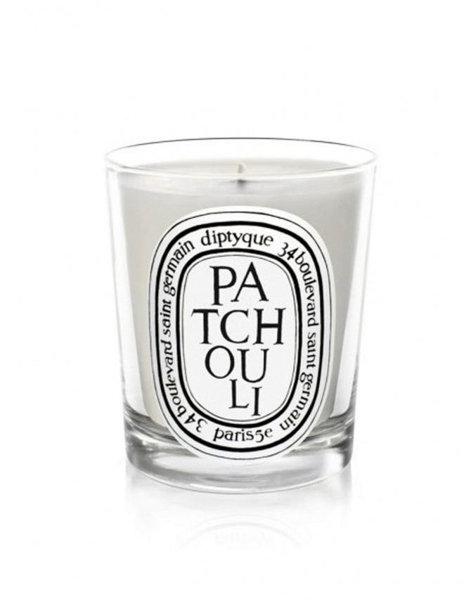 Diptyque Patchouli scented candle ODIP1BPA candles online shopping