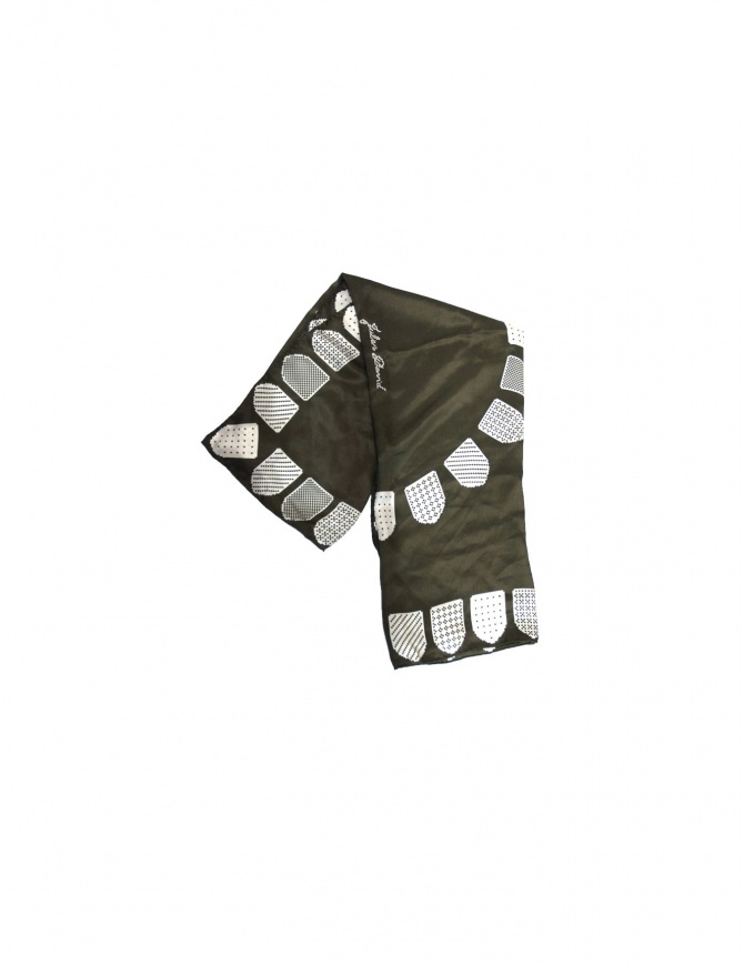Foulard Julien David colore khaki CHK-238-KW-S sciarpe online shopping